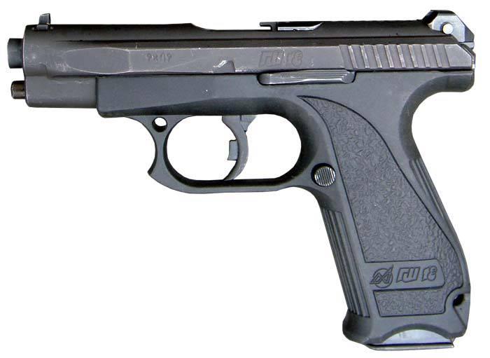 Le pistolet doit être beau