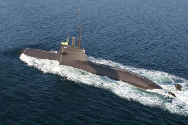 ドイツは現代の水素燃料電池潜水艦を発売