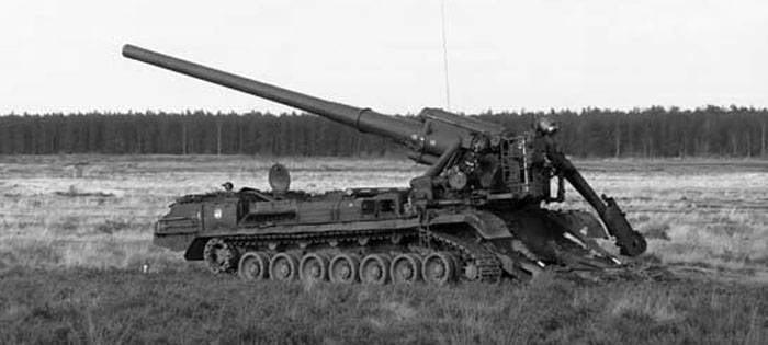 Peonia - Pistola semovente 203-mm