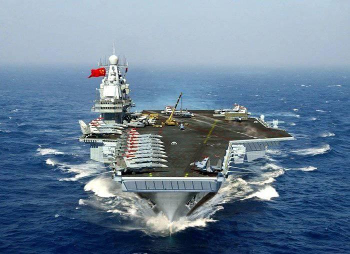 Китай намерен построить четыре атомных авианосца, чтобы оспорить превосходство США на море
