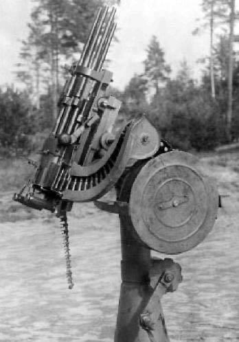 """""""重型""""机枪Slostina"""