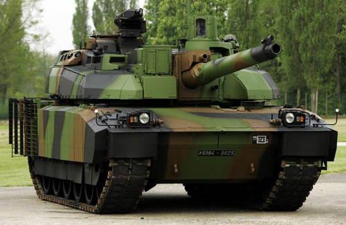...промышленного объединения GIAT удалось создать основной боевой танк, в...