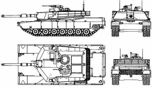 The main battle tanks of Western countries (part 3) - МХNUMX Абрамс