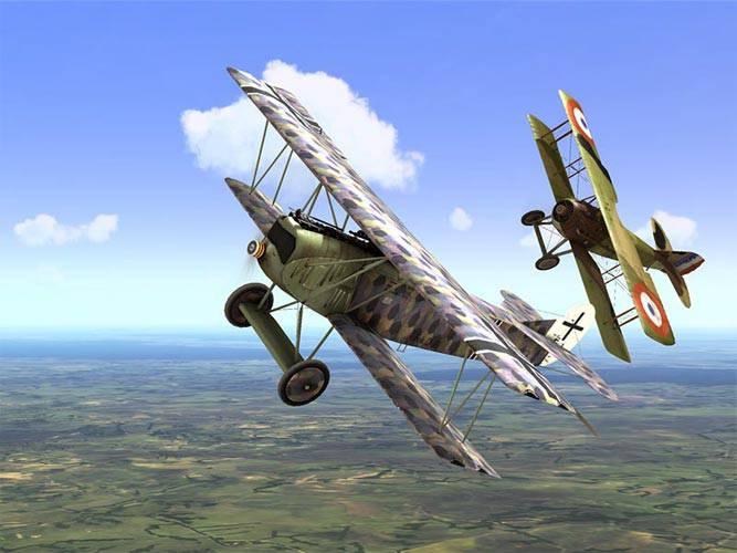 Premier armement d'avion