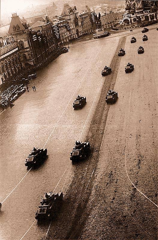 Chars multi-tour de l'armée rouge