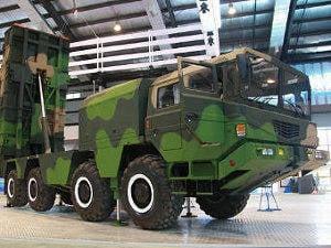中国已经建立了模块化导弹系统