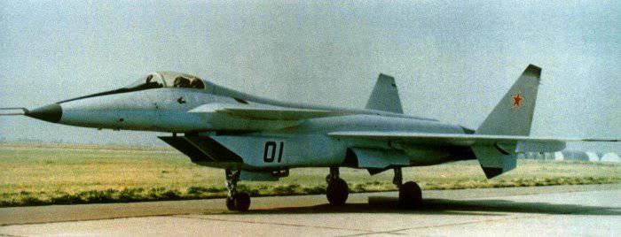 МиГ МФИ - экспериментальный истребитель