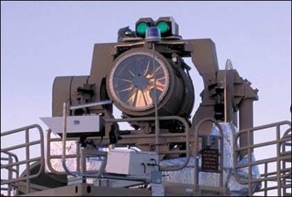 Air maritime combat lasers