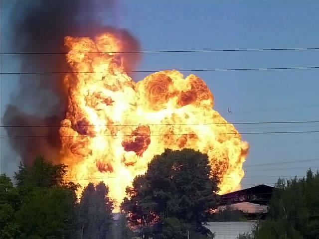 Burnt in Udmurtia, ammunition intended for Venezuela