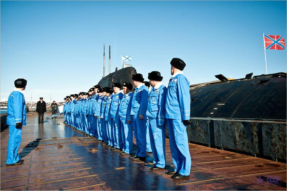 служба на подводных лодках северного флота