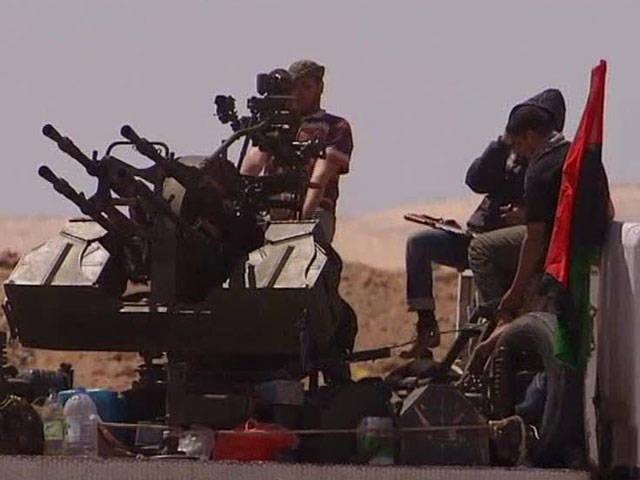 Libya'da çalınan uçakları vurabilen silah kompleksleri