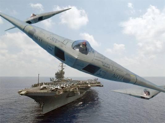 A-12 Avenger II - 미국 해군 항공 모함 공격 항공기