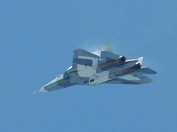 PAK FA a démontré ses qualités de vol de la délégation du ministère de la Défense de l'Inde