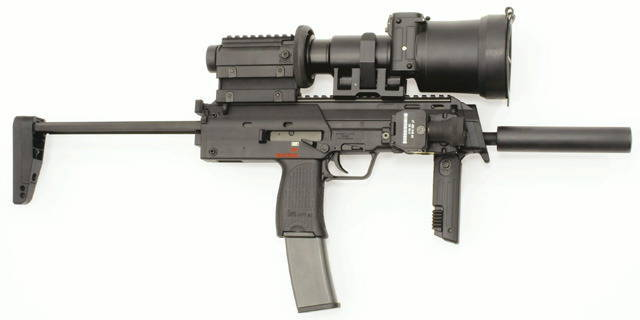 Submachine枪Heckler  -  Koch HK MP7A1 PDW(德国)
