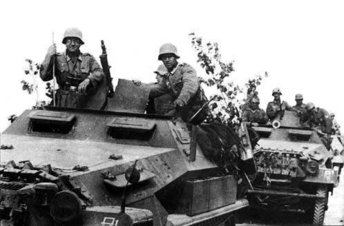 Quelles étaient les forces du Troisième Reich au début de la guerre avec l'URSS?