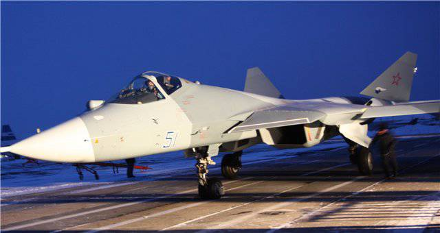 About eight years will need to run in a series of PAK FA