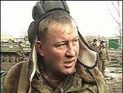 In Rostov appeared the street Guard Colonel Budanov