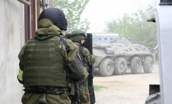 Боевик, подозреваемый в покушениях на силовиков, уничтожен в Дагестане