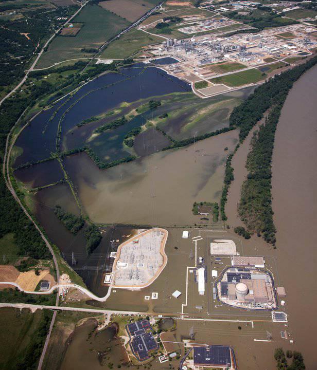 ABD'de iki nükleer enerji santrali sular altında kaldı