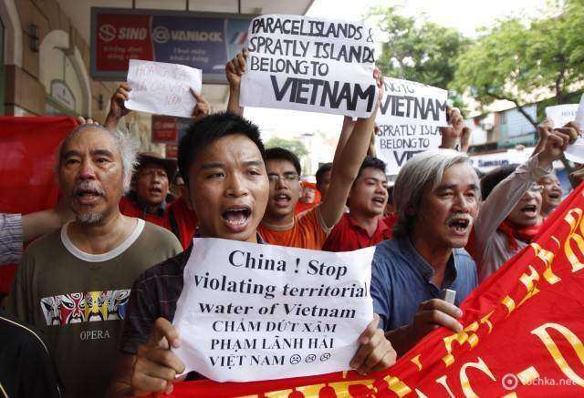 The situation in the South China Sea is heating up