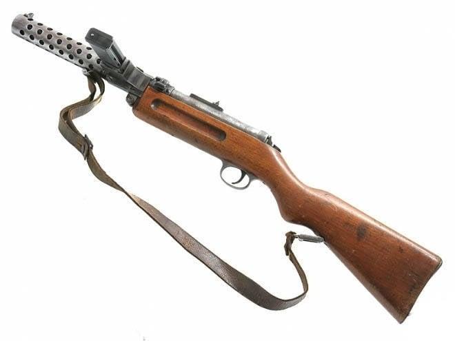 Hafif makineli tüfek Bergman-Schmeiser MP-18 / 1 (Bergmann / Schmeisser MP 18.1), Almanya