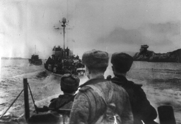 Операция по высадке советских войск на Киркенес, Норвегия.