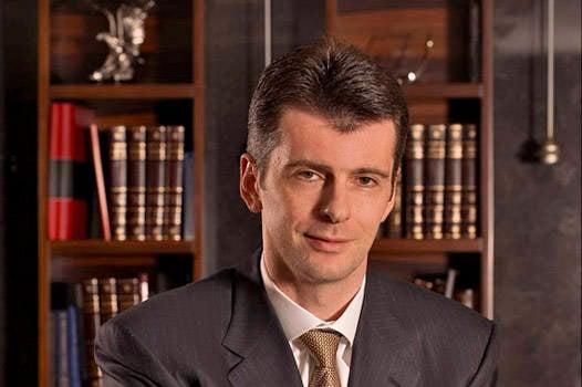 M.Prokhorov  - 俄罗斯的下任总统?