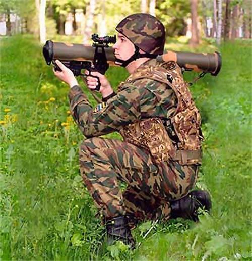 """俄罗斯步兵RPO PDM-A""""Shmel-M""""的新武器"""