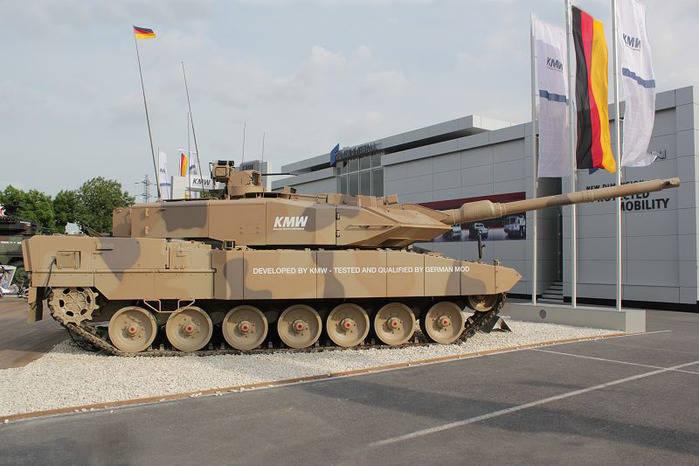 Танк Leopard 2A7+