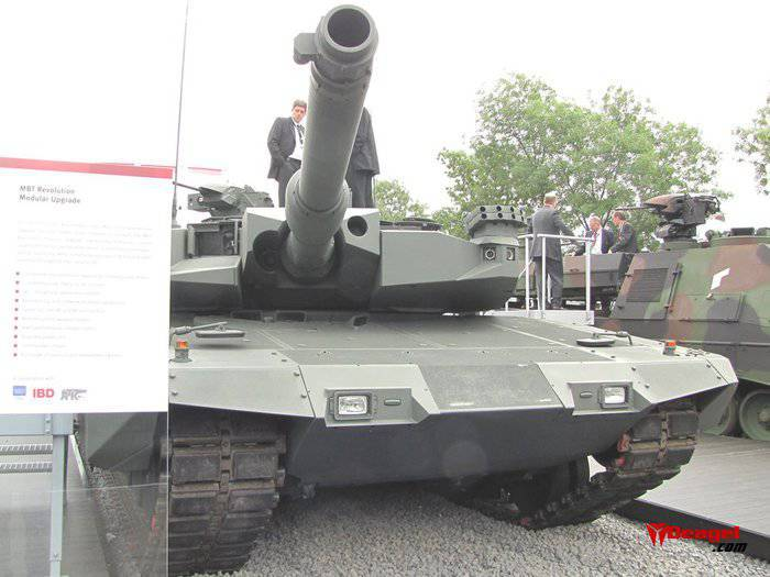 Танк Leopard 2A7+