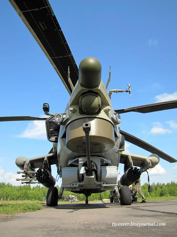 Centre de vol à Torzhok. Mi-28H