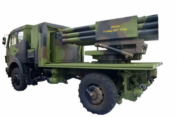 Serbian MLRS LRSVM