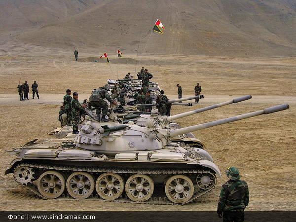 Peru'daki Çin tankları. Dönüş bırakılamaz