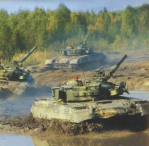 Т-80 – 35 лет на службе