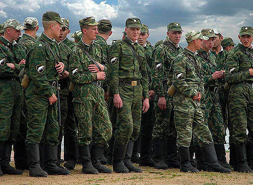 In five years, the Russian army will become professional at 70 percent.