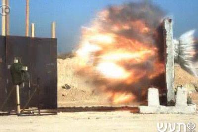 L'armée israélienne a testé avec succès un nouveau projectile unique