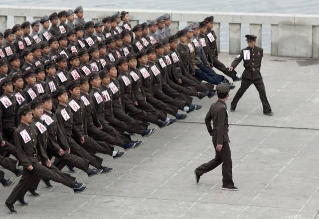Служба в армии для жителей кореи