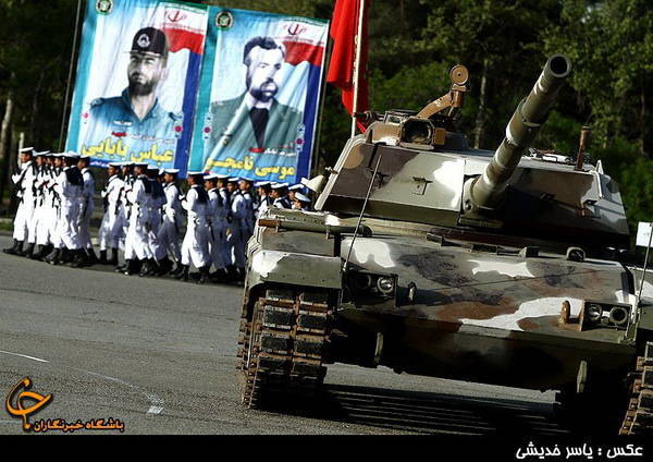 Main battle tanks (part of 10) Zulfiqar (Iran)