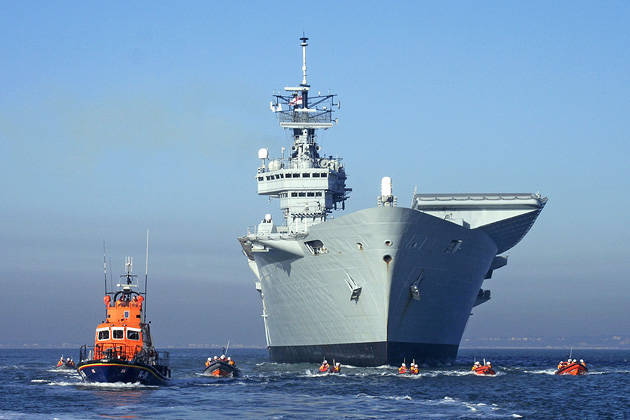 Increased competition in the international market of naval equipment