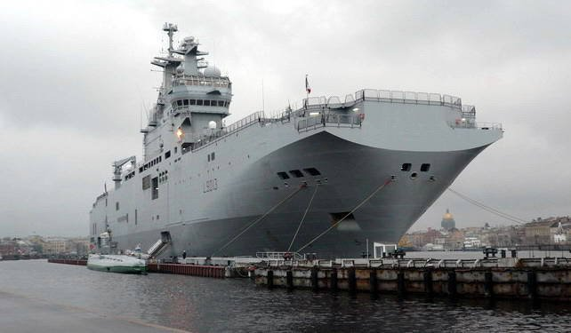 "Purchase of ""Mistral"" from the point of view of American military analysts"
