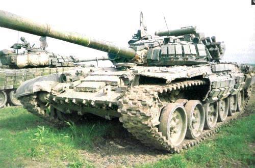 Decir una palabra sobre un tanque ruso - T-72
