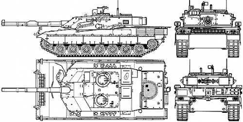 """主战坦克(12的一部分) - С1""""Ariente"""",意大利"""