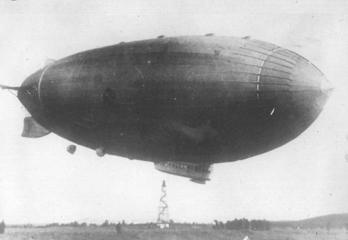 苏联飞艇的麻烦和骄傲
