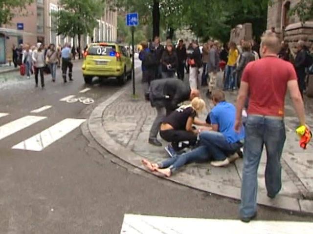 Le nombre total de victimes des attaques terroristes en Norvège - presque 90