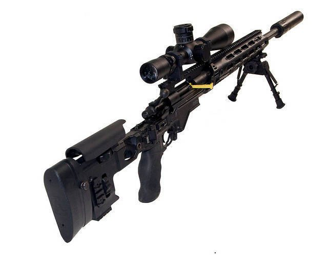 Снайперская винтовка XM2010 Enhanced Sniper Rifle / M2010 ESR (США)