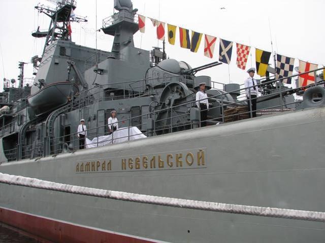 BDK-98が「ネベルスキー提督」になりました