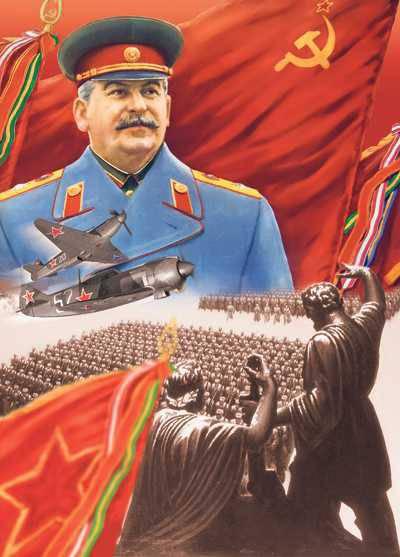 Comme trompé par les militaires de Staline ...