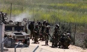 IDF tankları düzenledi