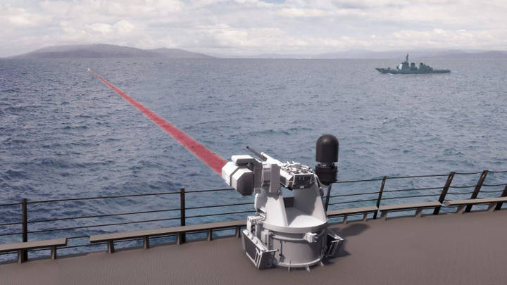 Americans are arming combat lasers