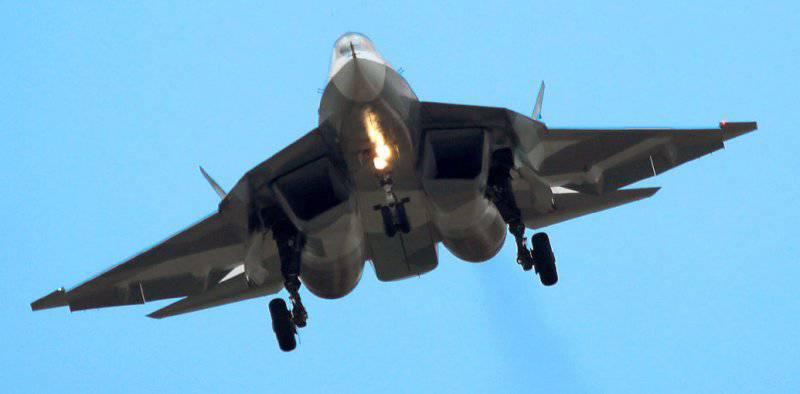 ПАК ФА-5 поколение, полет отличный.